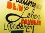 Paint the wall - Mädchencafe Taxham schwingt die Pinsel