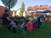 Elterncafé und Trampolin