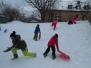 Schnee am ASP