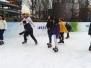 Streusalz Taxham auf dem Eis