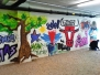 Die neue bunte Wand im Stadtwerk